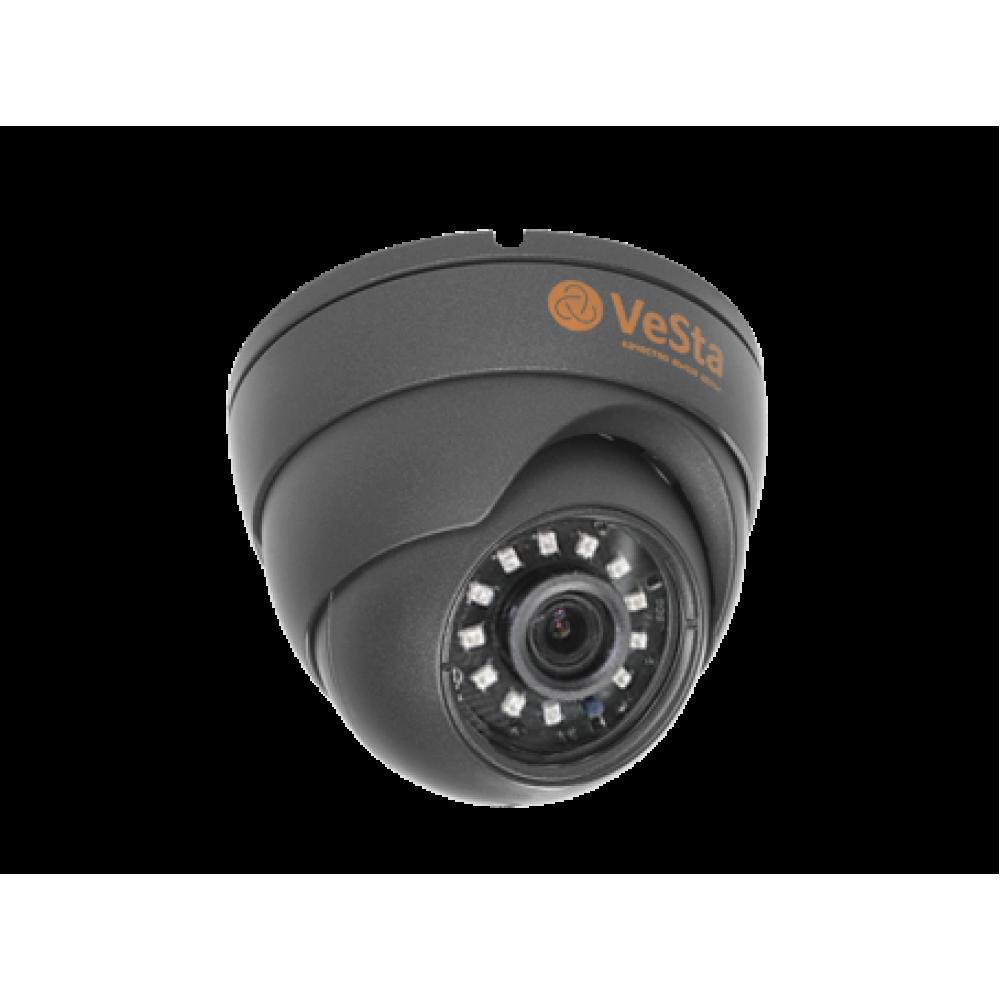 Видеокамера VC-2464 антивандальная AHD 2.8 M106